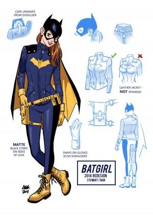 Cameron Stewart Batgirl costume