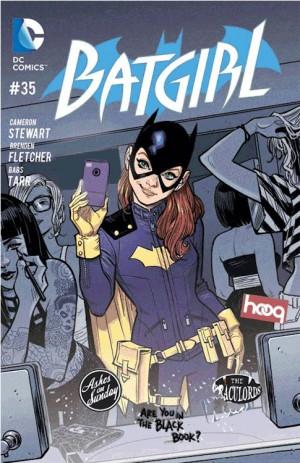 Camerton Stewart Batgirl cover